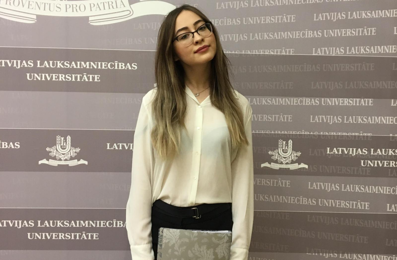 Научные достижения наших студентов оценили в Латвии